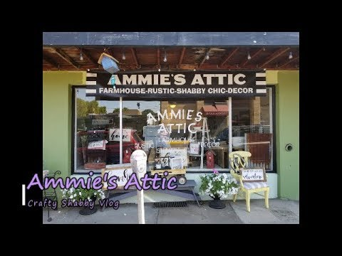 Ammies Attic Shab Chic Shop Vlog~The Correct One This Time ;