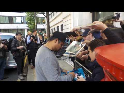 Michael Pena in London 30 09 2016 (1)