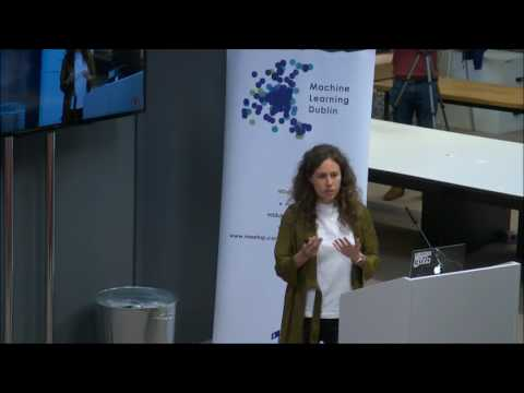 Dr Ana Peleteiro Ramallo at Machine Learning Dublin Meet-up with Zalando
