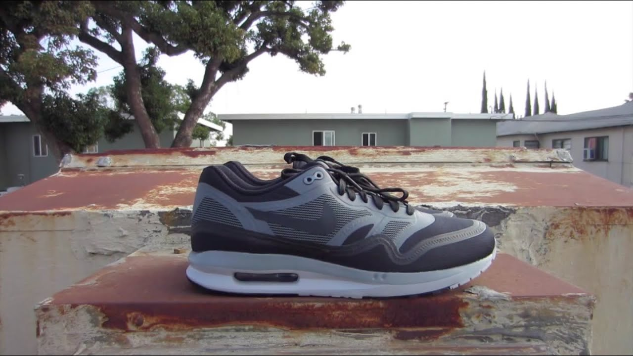 newest c5bd9 f2b19 Nike Air Max 1 Lunar Black WR Review And On Feet