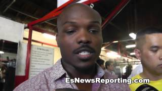 Bradley On Who Hits Harder Pacquiao or Marquez