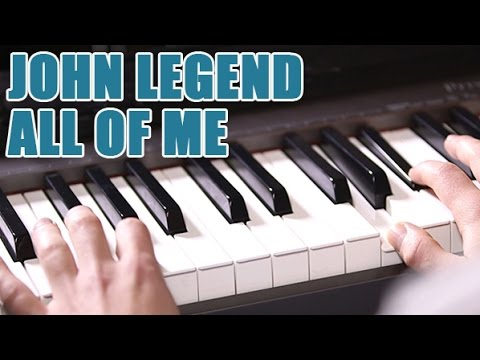 Partitions piano John Legend - All of Me