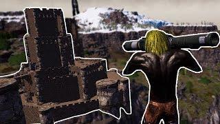 أرك سيرفايفل #9 | استكشاف القلعة المسكونة! Ark Survival Evolved