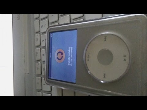How to solve an iPod sync issue