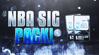 NBA Live Mobile Signature Series Pack Opening!