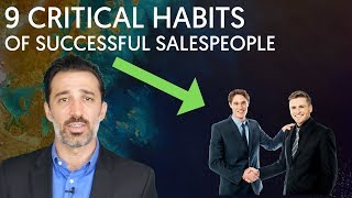 9 Habits Of (The Most) Successful Salespeople