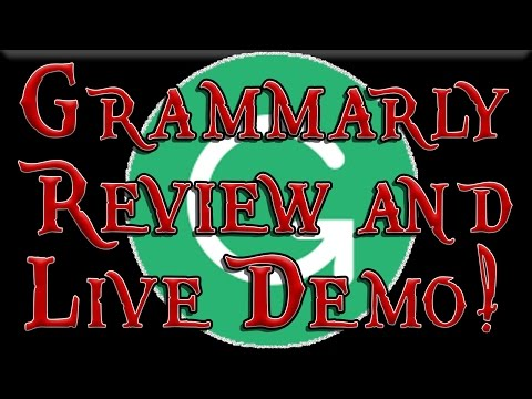 In Depth Grammarly Review Live Grammar Check Proofreading Demonstration