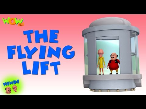 The Flying Lift - Motu Patlu in Hindi WITH ENGLISH, SPANISH & FRENCH SUBTITLES thumbnail