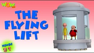 The Flying Lift - Motu Patlu in Hindi WITH ENGLISH, SPANISH & FRENCH SUBTITLES