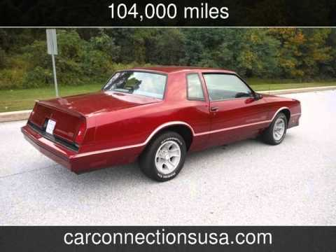 1986 chevrolet monte carlo ss used cars west chester pennsylvania 2014 11 30 youtube. Black Bedroom Furniture Sets. Home Design Ideas