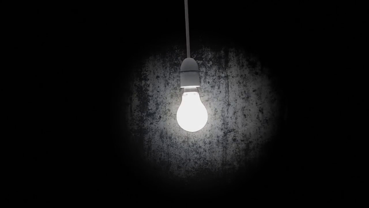 Free Hd Themed Title Backgrounds  U2013 Bright Lamp In Dark
