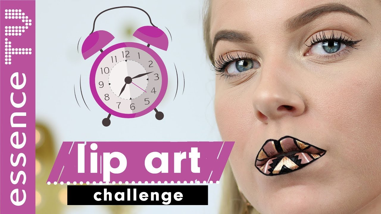 Machbar Lip Art Challenge Deutsch Karnevalfasching Make Up Ideen
