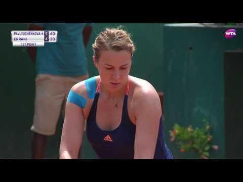 2017 Rabat Semifinals | Anastasia Pavlyuchenkova vs Sara Errani | WTA Highlights