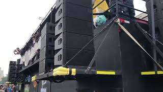 D&B Audiotechnik Brazil Class 1 Audio International Carnivals Roadshow Sound System DJ Truck Part 1