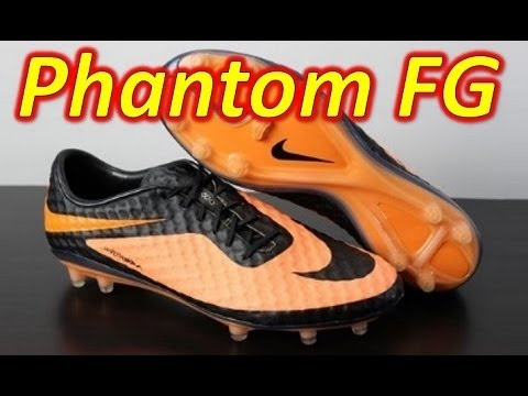 best website 427dd 03030 Nike HyperVenom Phantom FG Bright Citrus Black - Unboxing + On Feet -  YouTube