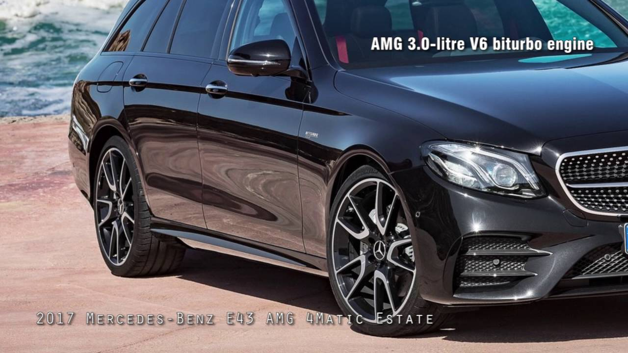 2017 Mercedes Benz E43 AMG 4Matic Estate - YouTube