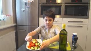 Салат Каприз с моцареллой