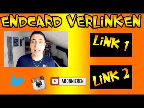 Endcard verlinken oder Links in Video einfügen (Youtorial #9)