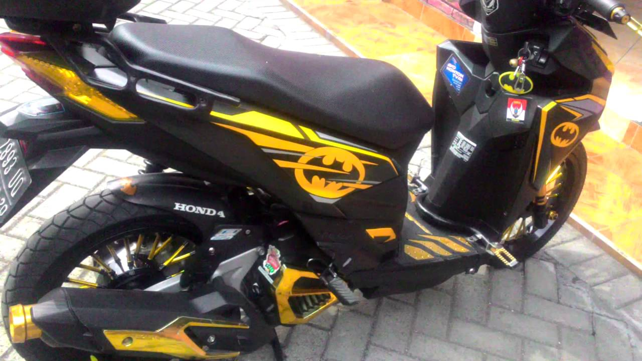 Vario150 batman click honda by achmad ayiek