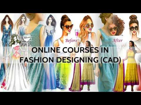 Online Fashion Designing Course (CAD) - How do we teach - FREE DEMO CLASS