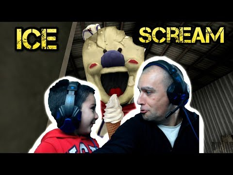 Killer Ice Scream game || Ice Secream Men is after us!! Horror Game Play || Tubers FunFam