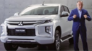 MITSUBISHI TRITON/L200 (2019) Ready to fight Toyota Hilux?