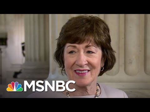 Sen. Susan Collins: Not Appropriate That James Comey 'Leaked' Memo | MTP Daily | MSNBC