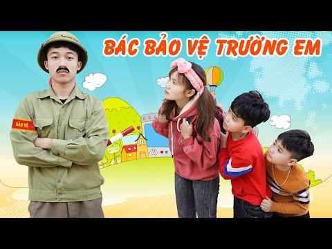Bác Bảo Vệ Trường Em ♥ Min Min TV Minh Khoa