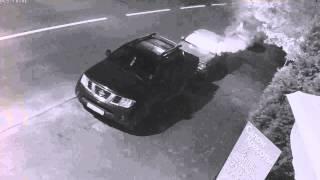 Полиция Калининграда разыскивает злоумышленников, совершивших поджог автомобиля
