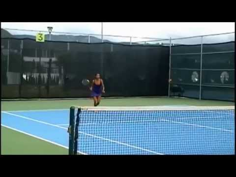Nancy Perez - Tennis Match Recruiting Video for fall 2015 HD