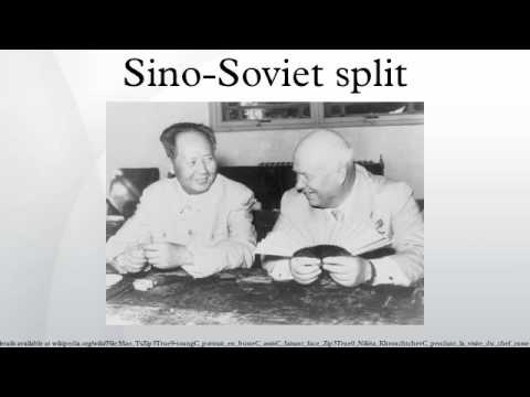 sino soviet split Sino-soviet split, 1960-1984 documents on the growing division and worsening relations between china and the soviet union from 1960 onward see also sino-soviet.