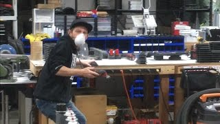 Don't touch my s**t! (Teaching the shop nugget a lesson)