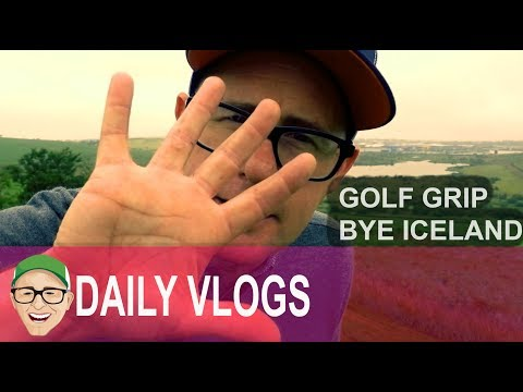 GOLF GRIP LAST DAY LOVE YOU ICELAND