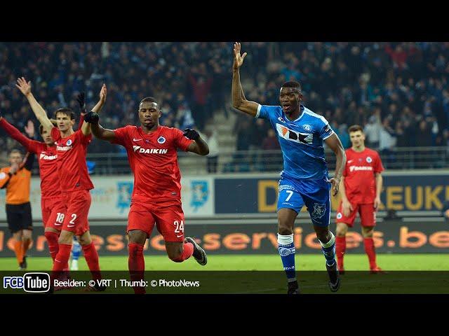 2015-2016 - Croky Cup - 04. Halve Finale - AA Gent - Club Brugge 2-1