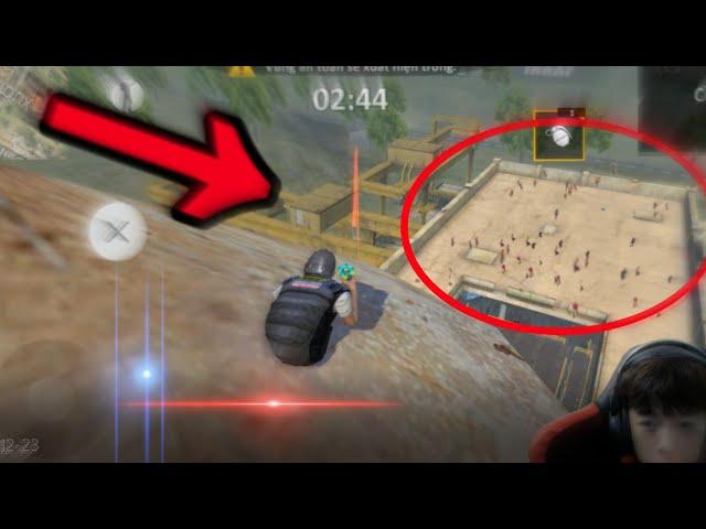Pha Ném Mìn IQ 1 Rổ Của Kelly Gaming - Tại Nóc Xưởng Cơ Khí