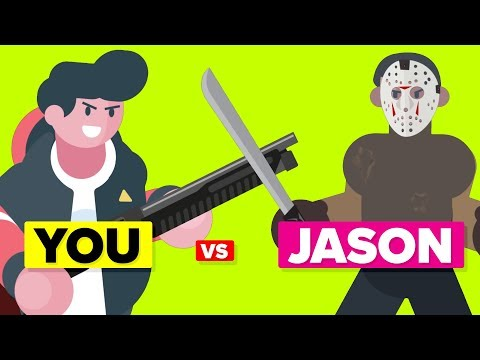 YOU vs JASON VOORHEES - How Can You Defeat and Survive It Friday the 13th Movie