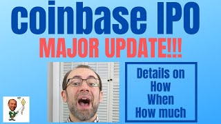 Coinbase IPO Update! Major News On HOW Coinbase Will Go Public!!