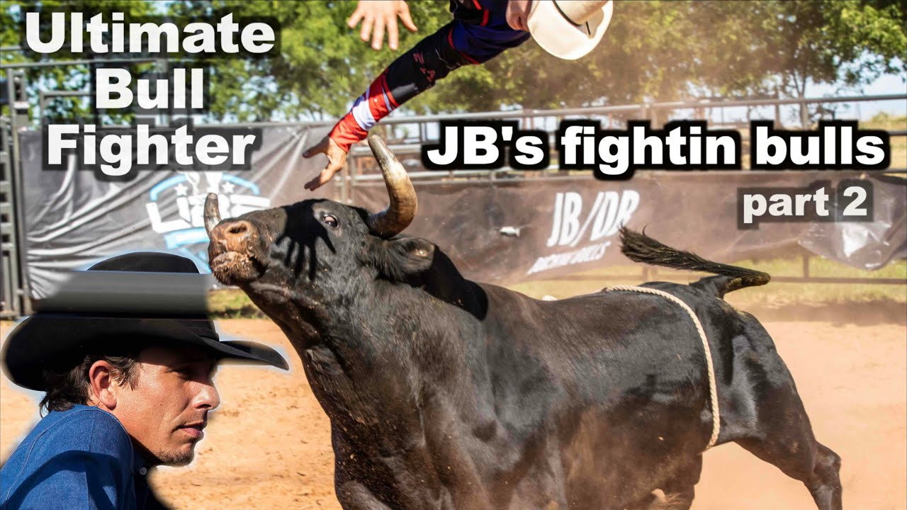 JB Mauney's Ultimate Bull Fighter part 2 - The Big Bulls - Rodeo Time 202
