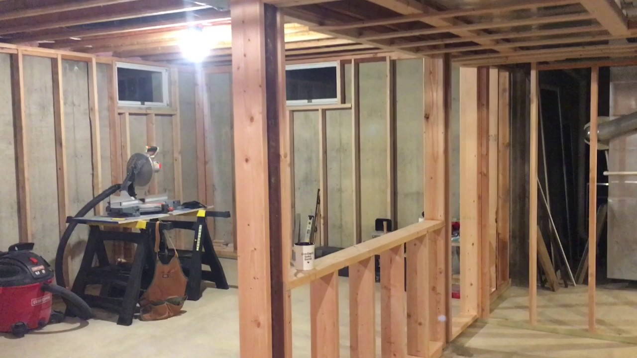 Finishing My Basement Framing You