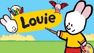 Louie dibujame, Tráiler - Suscribete a Louie el dibujo animado en espanol
