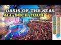 Oasis of the seas all deck tour - Royal Caribbean