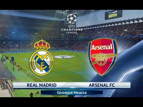 Real Madrid vs Arsenal | UEFA Champions League 2018 | PES 2018 Gameplay HD