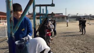 蒲生郡日野町必佐小学校愛校活動平成29年2月 その2