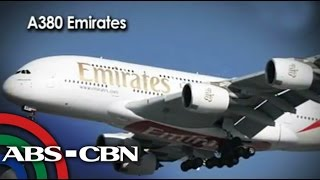 World's largest passenger plane lands at NAIA