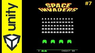 "SPACE INVADERS Part.7 - Réaliser un clone de ""space Invaders"" dans Unity"