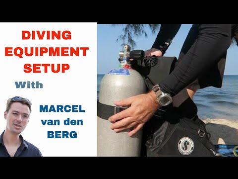 Diving Equipment Setup - PADI IDC & Divemaster Skills Circuit