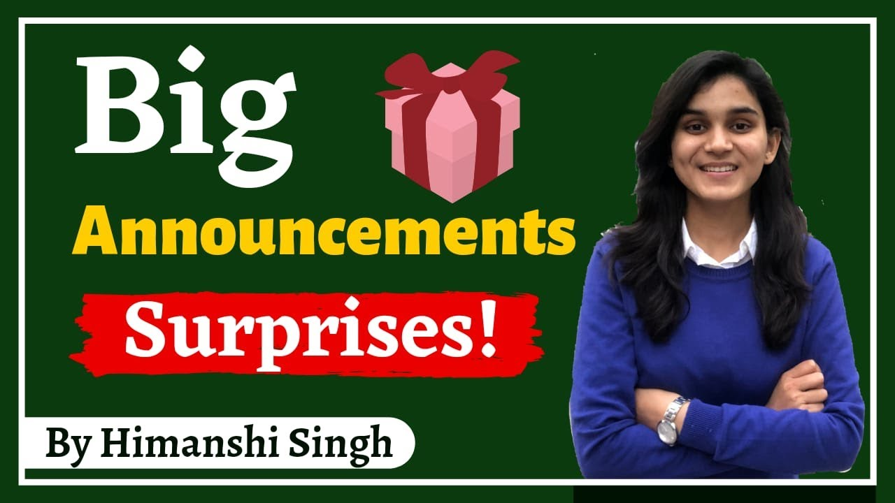 Big Announcements for CTET Aspirants!!! - CTET Topper, Meet-up, Books, Classes by Himanshi Singh