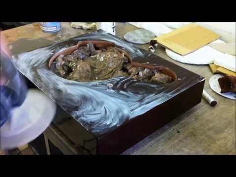 JVC Turntable table restoration