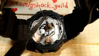 Как снять корону/заводную головку с часов Casio G-Shock (fake)(, 2015-09-28T18:07:17.000Z)