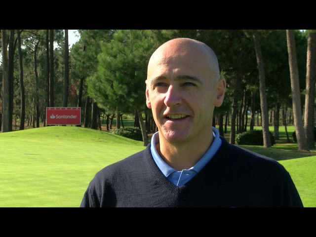 Entrevista a Iñigo Aramburu, director del Santander Golf Tour 2018